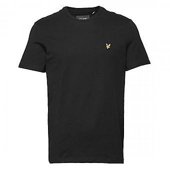Lyle & Scott Plain Crew Neck T-Shirt Jet Black TS400V