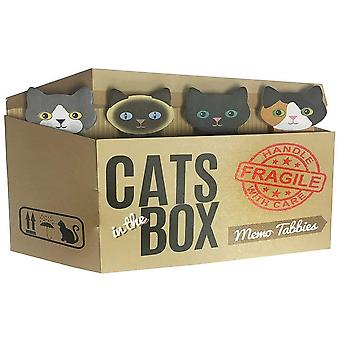 Streamline NYC Cats In The Box Memo Tabbies