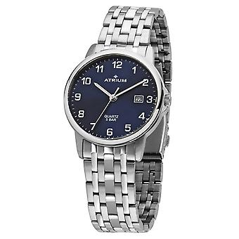 ATRIUM Men's Watch Ceas de mana din inox analog cuarț A26-35