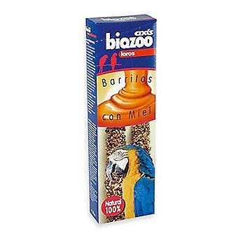 Axis-Biozoo Honey Bars for Loro (Birds , Bird Treats)