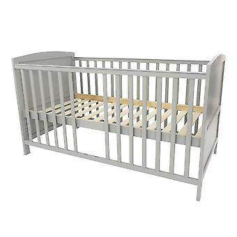 Vauvansänky Mika, harmaa, 140x70 cm
