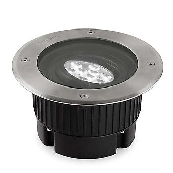 Leds-C4 Gea - Outdoor LED Recessed Ground Uplight Stainless Steel Polished 18.4cm 1647lm 16deg. 4000K IP67 - 55-9667-CA-CM