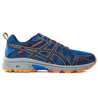 Asics Gel-Venture 7 WP Womens Trail Running Fitness Trainer Shoe Blue/Orange
