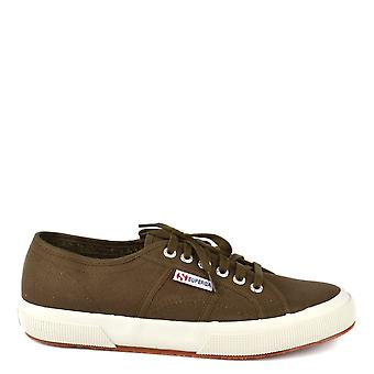 Superga Men's 2750 Cotu Military Green Trainer