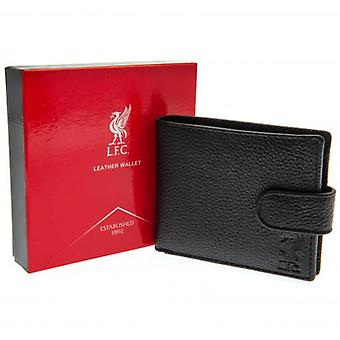 Liverpool Black Leather Wallet