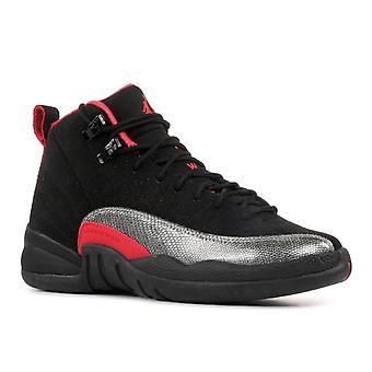 Meninas Air Jordan 12 Retro (Gs) - 510815-008-sapatos