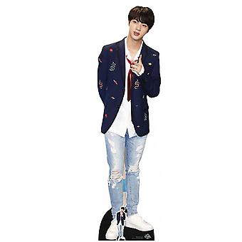 Jin from BTS Bangtan Boys Cardboard Cutout / Standee / Standup