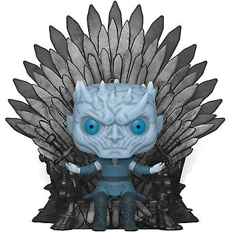 Funko 37794 Deluxe Got S10 Night King Sitting On Throne Collectible Figure