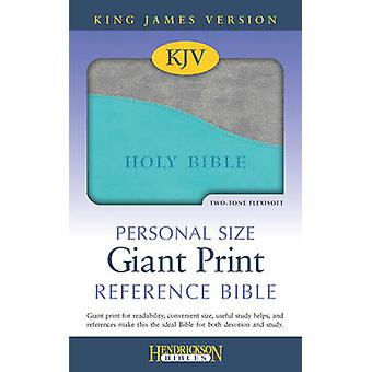KJV Personal Size Giant Print Reference Bible (large type edition) by