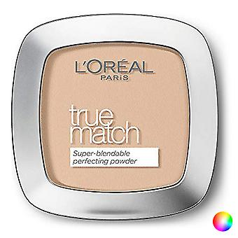 Compact Powders True Match L'Oreal Make Up (9 g)/W3 Golden Beige