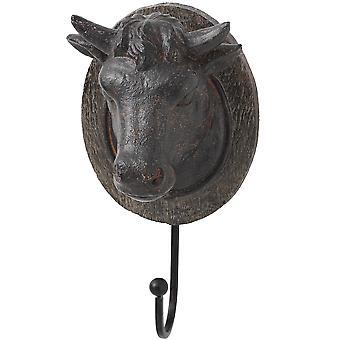 Hill Interiors Bull Head Coat Hook