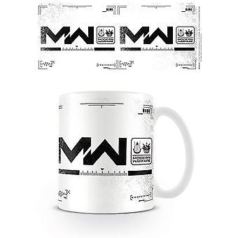 Call of Duty Modern Warfare Logo Mug