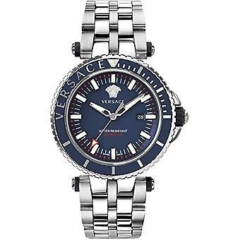 Versace VEAK00418 V-Race Diver relógio masculino