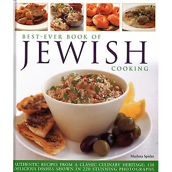 BestEver Book of Jewish Cooking  Authentic recipes from a classic culinary heritage delicious dishes shown in 220 stunning photographs by Marlena Spieler
