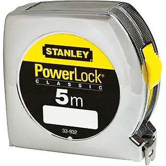 Stanley 33932 033932 Power lock Tape 5m (Width 19mm) Top