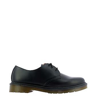 Dr. Martens Dms1461bsm10078001 Heren's Black Leather Lace-up Schoenen