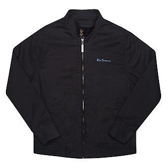 Boy-apos;s Ben Sherman Junior Harrignton Jacket en noir