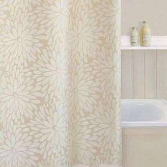 Blue Canyon Petal Shower Curtain