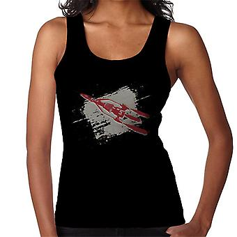 Thunderbirds 3 Space Rocket Graphic Kvinder's Vest