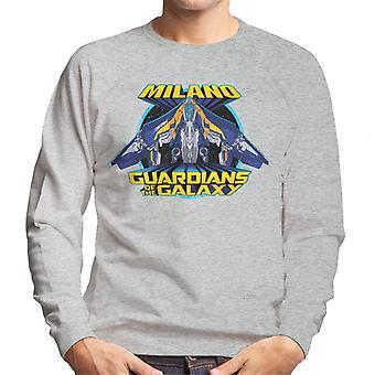 Marvel Guardians Of The Galaxy Milano Logo Men's Sweatshirt