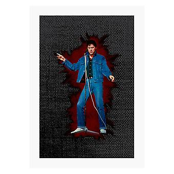 TV Times Shakin Stevens On Stage A4 Print