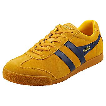 Gola Harrier Mens Classic Trainers in Sun Navy