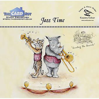 The Card Hut Jazz Time Clear Stamps