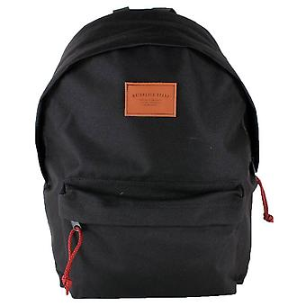 Watershed Union Leather Badge Backpack - Black