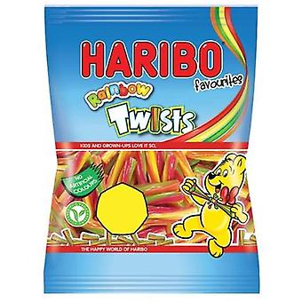 HARIBO Rainbow Twists, 70g Laukku