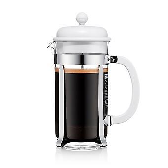 Bodum 8 Cup Cafetiere, Light Grey