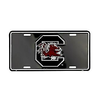 Carolina do Sul Gamecocks NCAA Black matrícula