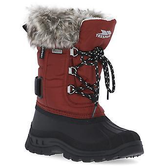 Trespass niñas Lanche aislado impermeable invierno botas de nieve