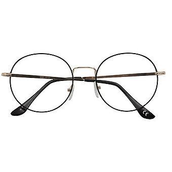 Reading glasses Women's Ringo black/gold thickness +1.00