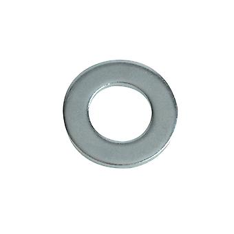 Forgefix Flat Washers DIN125 ZP M8 Forge Pack 30 FORFPWAS8