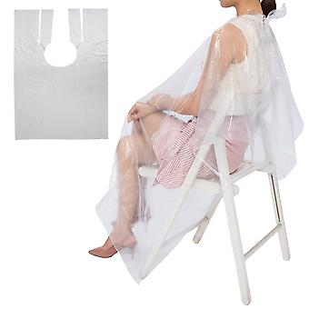 Pack 50pcs Disposable Hairdressing Cape Gown