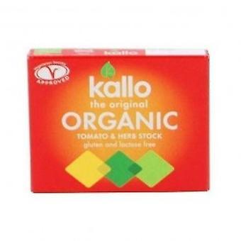 Kallo - Tomato & Herb Stock Cubes 66g