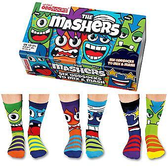 United Oddsocks Mashers Socks Gift Set For Boy's