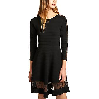 French Connection | Voletta Mesh-Trim Dress