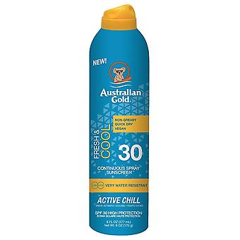 Australian Gold Continuous Spray sunscreen Spf30 177 ml