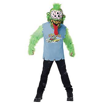 Kids See Monster Halloween Fancy Dress Costume