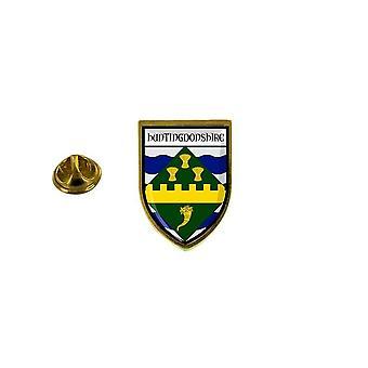 pine pine pine badge pine pin-apos;s souvenir city flag country coat of arms huntingdonshire