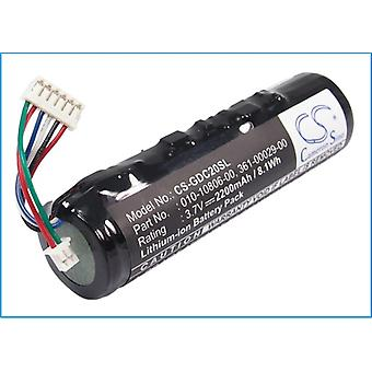 Collar Battery for Garmin 010-10806-20 361-00029-00 DC20 DC30 DC40 DC-20 2.2Ah