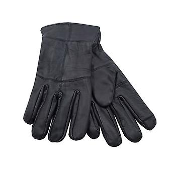 Heatguard Mens Thinsulate Touchscreen Leather Gloves