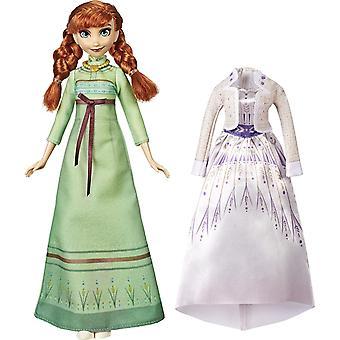 Frozen 2, Muñeca - Anna con Dos Vestidos