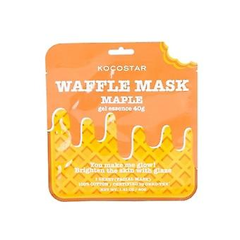 Kocostar Maple Waffle Sheet Mask (all Skin Types)