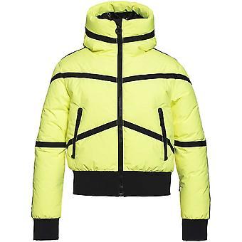 Goldbergh Web Jacket- Neon Yellow