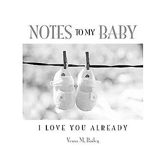 Muistiinpanoja vauvalleni: Rakastan sinua jo nyt