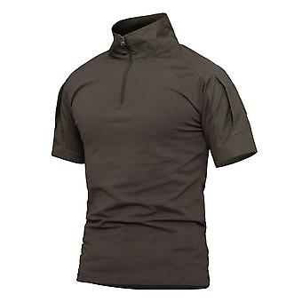 Frog Suit Tactical Suit, Men&s T-shirt Plus Sizes Stitching Tactical Hunting