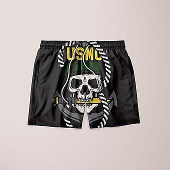 Usmc skull mascots shorts