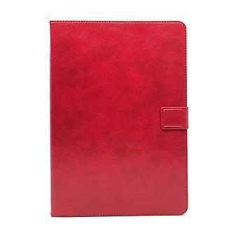 RV Luxe Leren Boekmodel Hoes iPad Pro 11 inch (2020 & 2021) - Rood